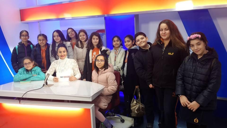 Gazetecilik Kulübümüz TRT Yayıncılık Tarihi Müzesi'nde