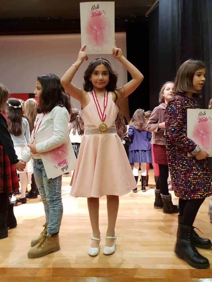 Öğrencimizden Royal Academy of Dance Grade 4 Başarısı