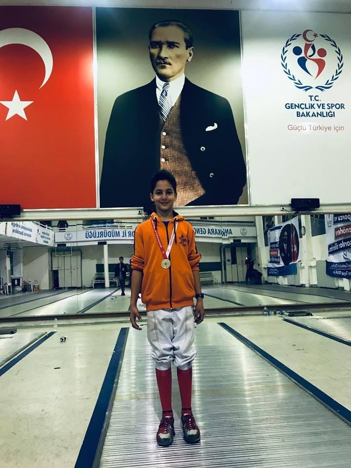 Eskrim'de Ankara 1.liği
